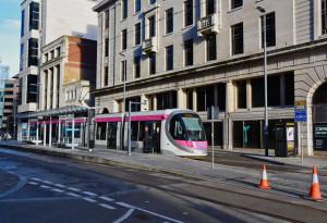 new tram in brum